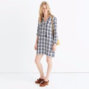 Madewell Plaid Artiste Tunic Dress